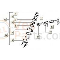 Stuurslothuis V5X-SSL-TEC-SAL-C23 PK50