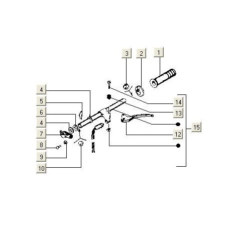 Versnellingsbuis V5N PK50 (<95)