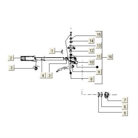 Remhandel (rechts) V5N-V5P (>95) PK50 compleet