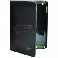 Vespa iPad cover black-green