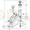 Olietank Vespa S/ET2/LX/LXV compleet