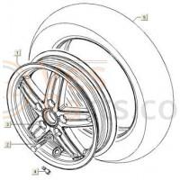 Buitenband 110/70x11 Michelin
