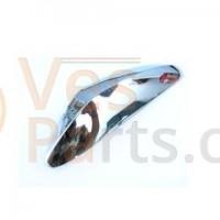 Sierstrip Voorspatbord Vespa LX chroom + sticker