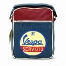 """Vespa Laptoptas """"Tracolla"""" Servizio blauw"""