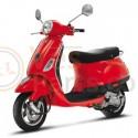 Vespa LX Rosso Dragon