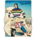 Kalender Vespa sneeuw
