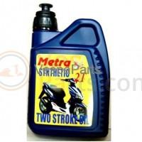 Vespa Motorolie 2T Metra Basic (half-synth) 1L