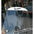 Vespa scooter sticker windscherm lx/s wit of zwart