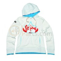 Vespa Sweater Limited dames wit/blauw