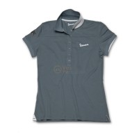 Vespa Dames Polo original grijs
