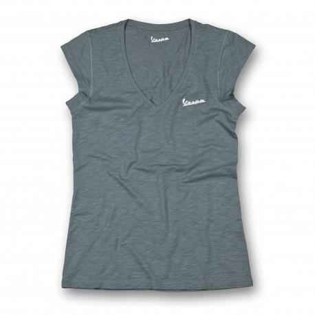 Vespa Shirt original dames grijs