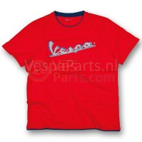 Vespa T-Shirt original heren Rood