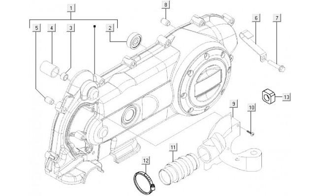 Motorblok Koeling Vespa LXV