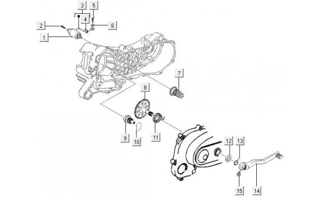 Electrische Starter Vespa LXV