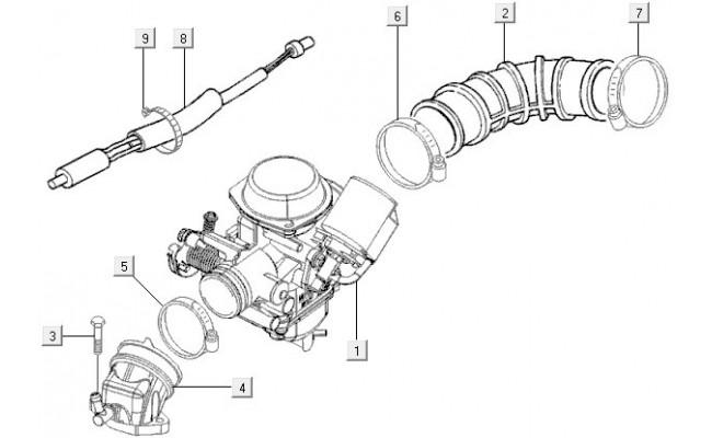 Carburator Vespa LXV