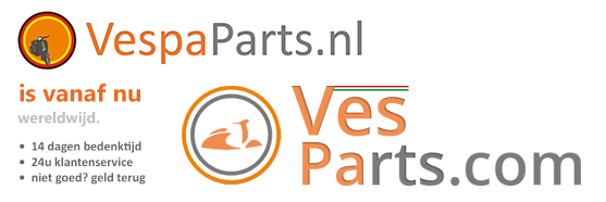 VespaParts.nl is vanaf nu Ves-Parts.com